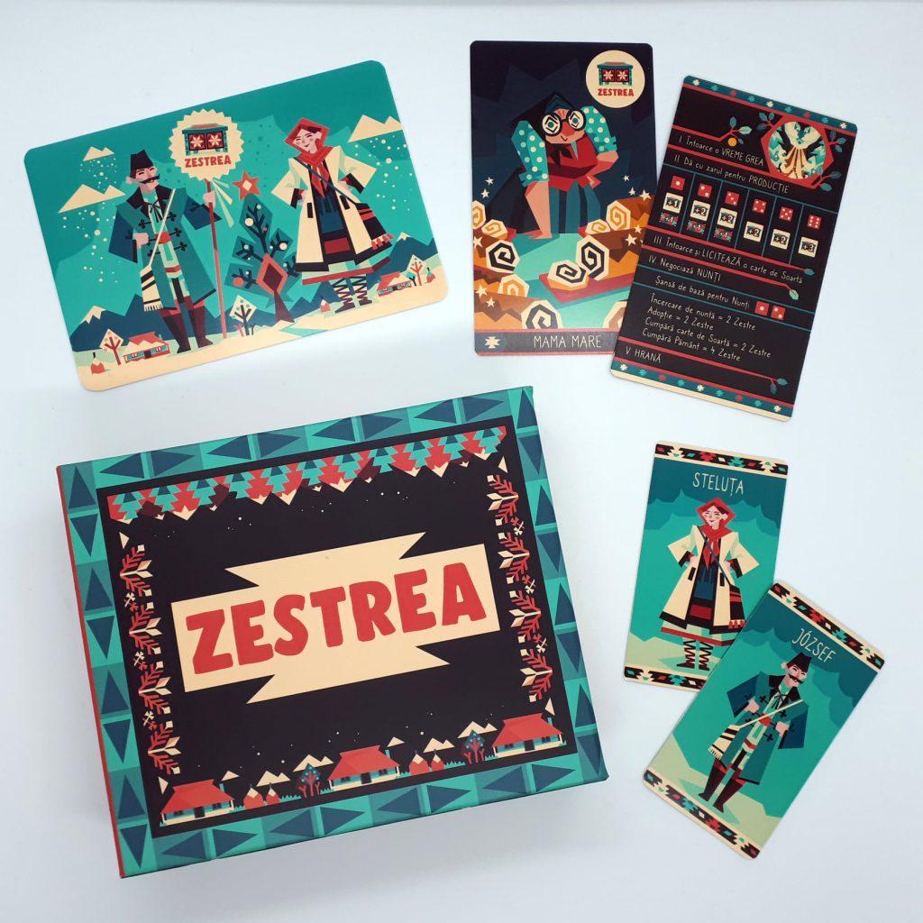 Zestrea - board game romanesc