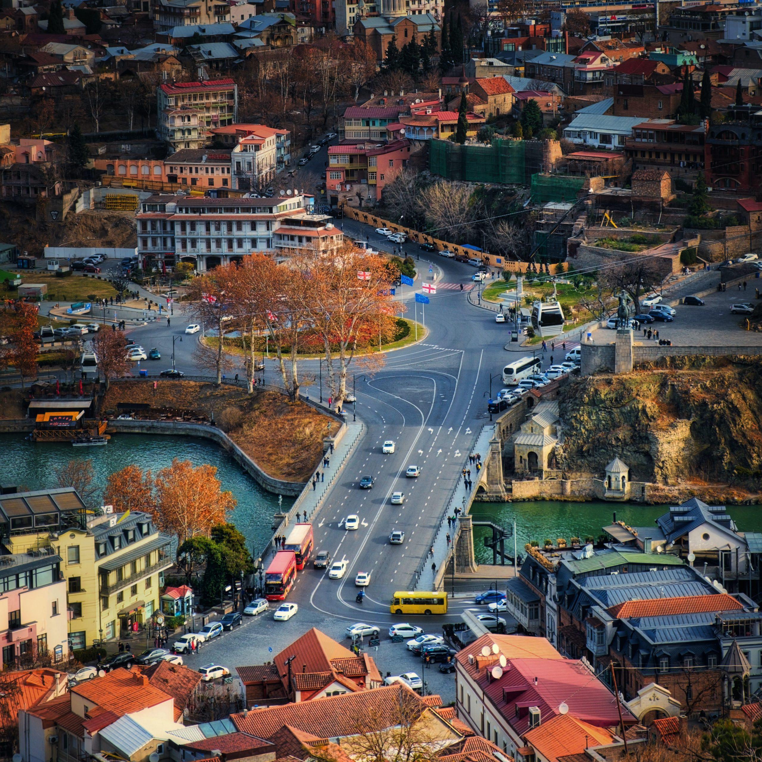 Metekhi Bridge - Tbilisi, Georgia capitala europeana 2021